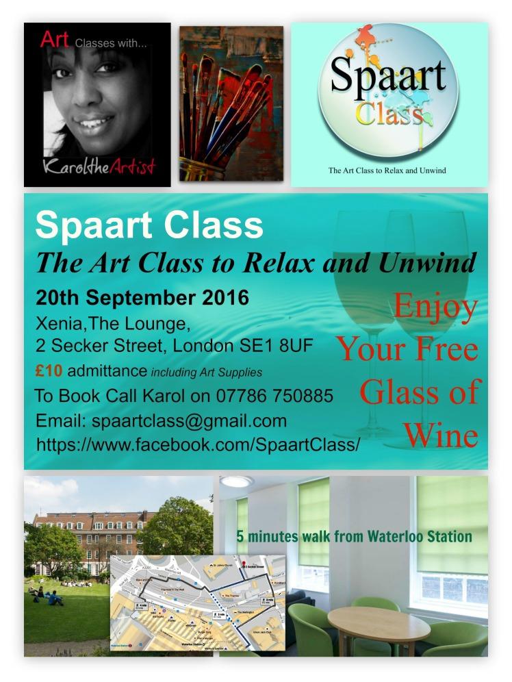Spaart Class Flyer