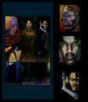 Man - Acrylic 6ft x ft Painting