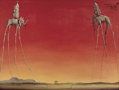 elephants-by-salvador-dali