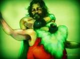 santa-v-jesus-wrestle