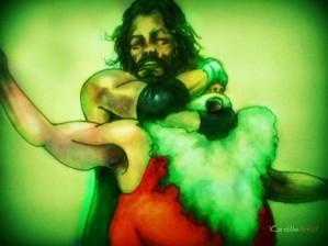 Santa verse Jesus