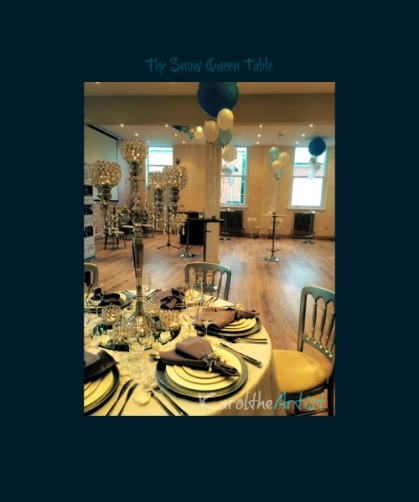 The Snow Queen Table Event