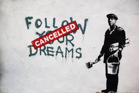 Banksy Follow Your Dream